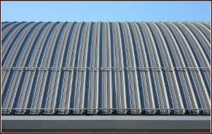 Metal sheet roofing options for a building contractor in Kerala
