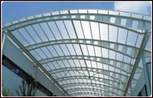 Polycarbonate sheet roofing options for a building contractor in Kerala