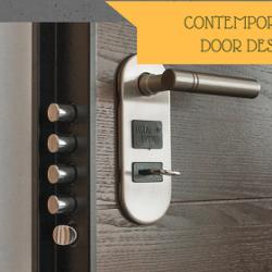 CONTEMPORARY DOOR DESIGNS
