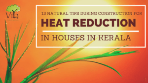 13 tips for heat reduction in houses in Kerala