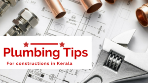 Plumbing Tips - civil contractor in Kochi