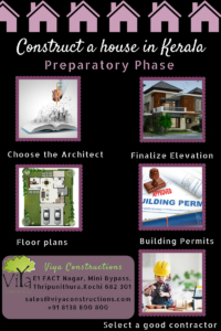 How to construct a house in Kerala - Preparatory Phase