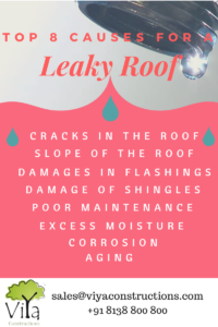 Top 8 reasons for a leaky roof