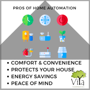 Pros of home automation