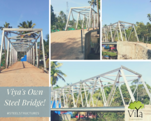 Viya's Own Steel Bridge!