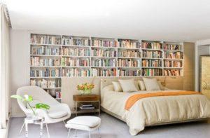 Home library design - Bedroom nook