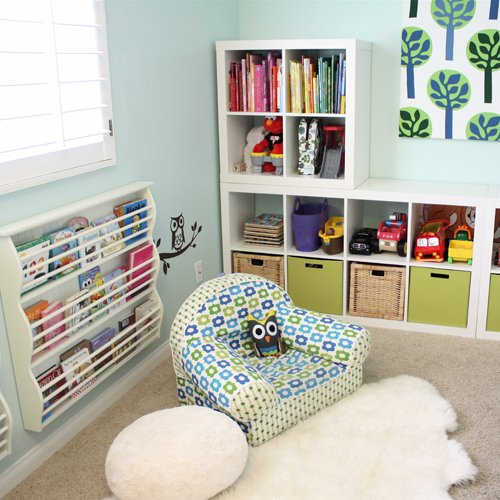 Home library design - kids