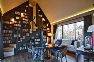 Home library ideas - Wall