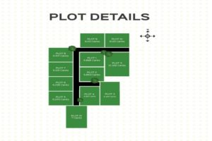 Villas at Maradu, plot layout