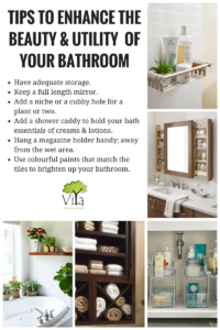 Tips to enhance the beauty and utility of your bathrooms