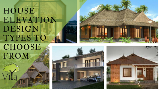 Types of house elevation designs you could choose from