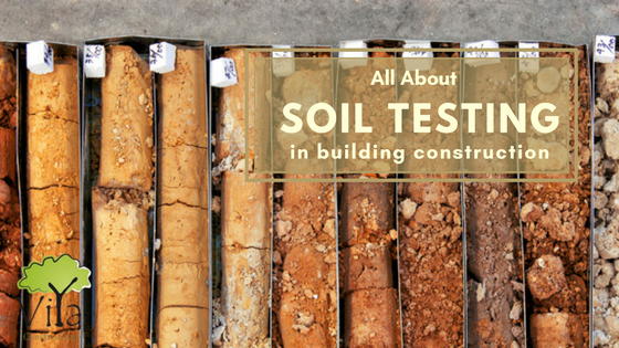 Soil testing in building construction
