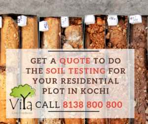 Get a quote to do a soil testing for your residential plot in kochi