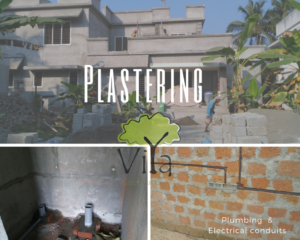 Stages of building construction - #5 Plastering
