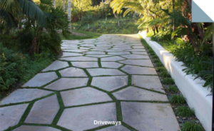 Paving stones for Driveways