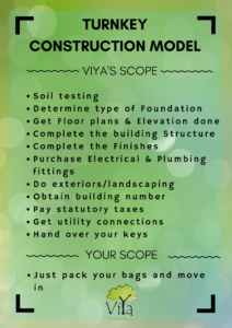 Turnkey Construction Services - Scope of work