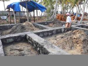 plot 1- rubble work