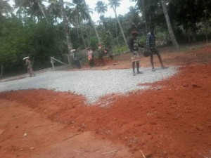 Puthenchira road work