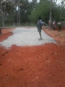 Puthenchira road work1