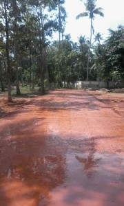 Puthenchira road work3