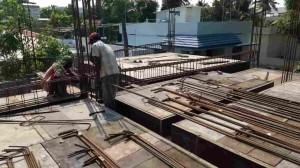 Beam Steel work