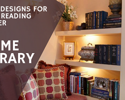 Cool designs for your home library