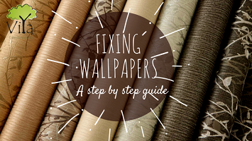 Fixing wallpapers – A step by step guide