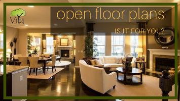 Open Floor Plans – The modern trend