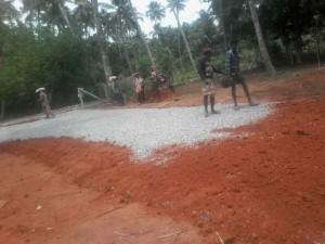 Puthenchira road work