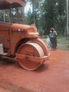Puthenchira road work4